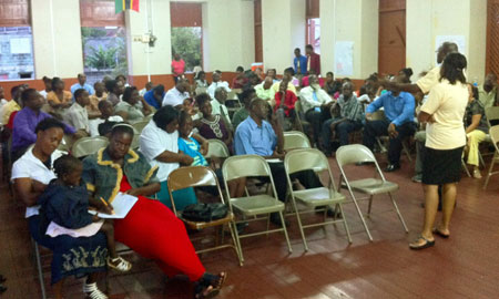 Image of Equality for All campaign community consultation in St. Kitts and Nevis