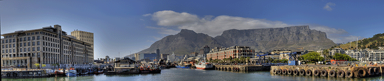 View of downtown Cape Town