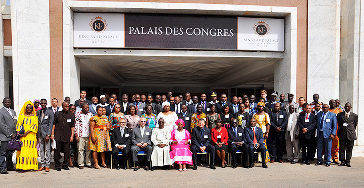 participants at the ecowas meeting