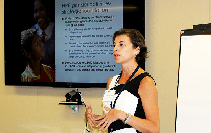 Photo from the gender EOP event