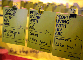 Learn more about our HIV-related work