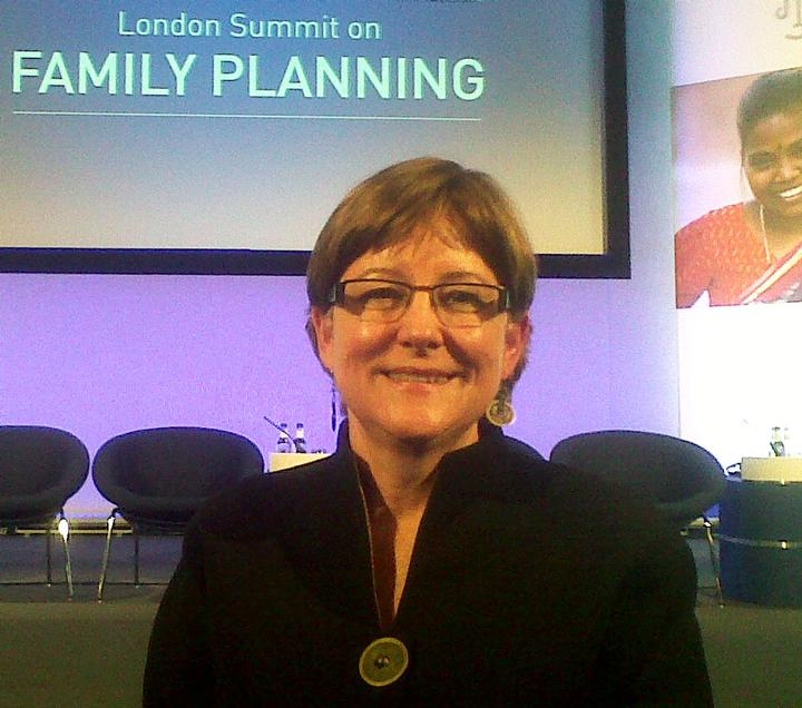 Image of Karen Hardee at Family Planning Summit