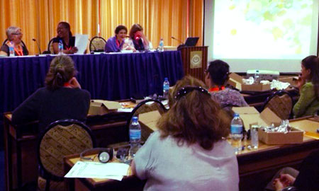 Image of Global Maternal Health Conference in Arusha, Tanzania. Photo by Health Policy Project/White Ribbon Alliance.