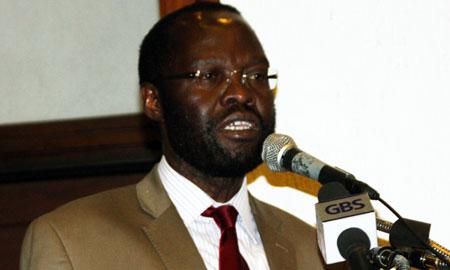 Image of Kenyan Minister o orMedical Services, Anyang Nyon'go