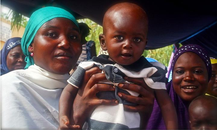 Image of mother and child in Niger.