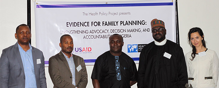 HPP staff at the EOP event in Nigeria