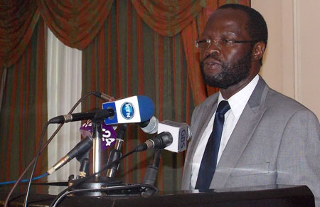 Image of Kenya's Minister for Medical Services, Prof. Anyang Nyong'o