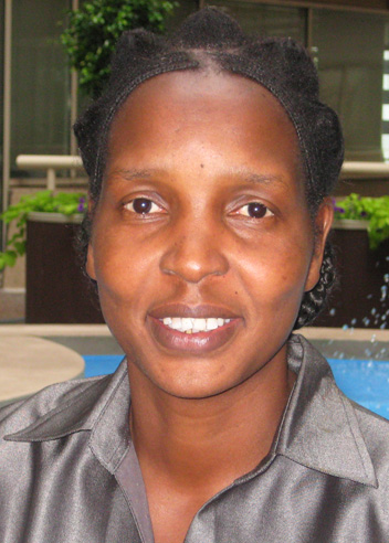 Image of Kenya National AIDS Control Council head Regina Ombam. Credit: Health Policy Project