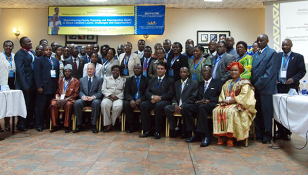 Image of participants at 2011 SEAPACOH meeting