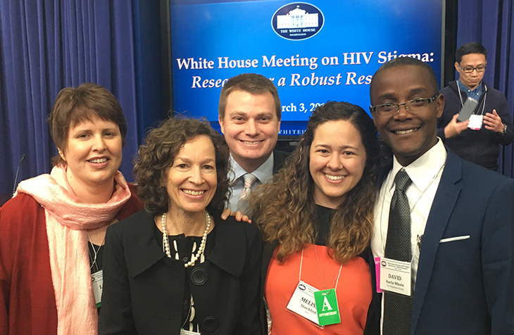 HP+ staff at the white house stigma conference