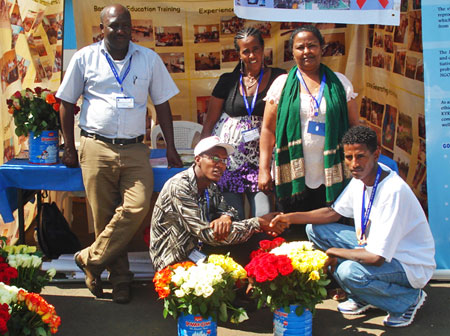 Image of Wubit Hailu, managing director of Kulich youth program in Ethiopia.