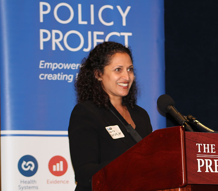 Anita Datar at HPP's EOP innovation exchange