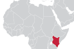 Image of Kenya map