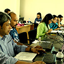 GIS mapping workshop participants in bangladesh