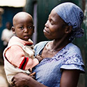 Nairobi mother and child