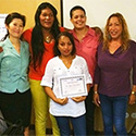 Participants at a transgender health workshop in the dominican republic