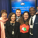 HPP and HP+ staff at the white house stigma conference