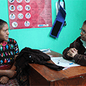 patient and provider in a guatemala clinic